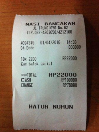 Nasi Bancakan: Harganya cuma 22ribu satu kotak isi 10
