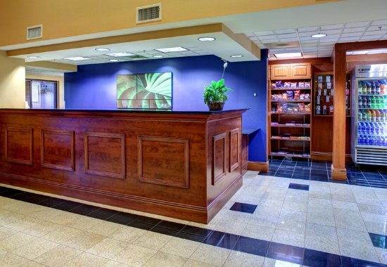 Fairfield Inn & Suites Asheville South/Biltmore Square: Front Desk