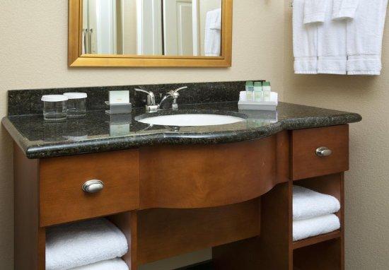 Bathroom Vanity Kansas City bathroom vanity - picture of homewood suiteshilton kansas city