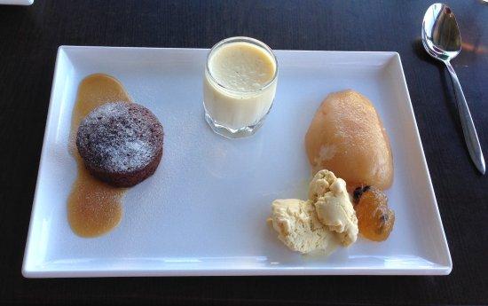 Mudgee, Australië: Degustation Desserts