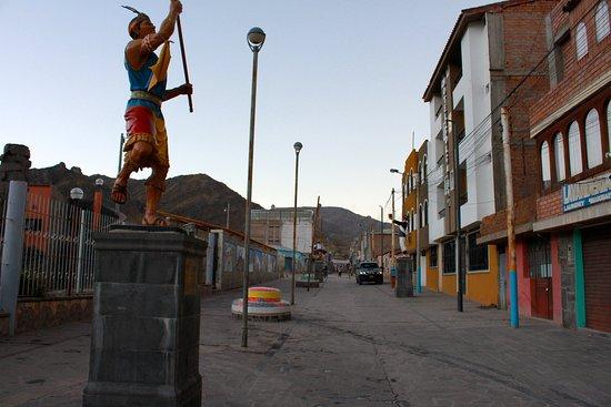 La Posada del Colca: Hotellet ligger tær på centrum