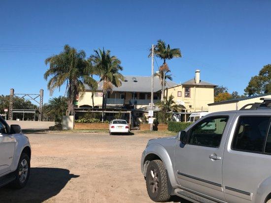 Coopernook, Australia: Back of hotel