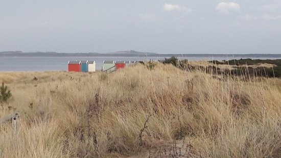 Findhorn looking east to Burghead.