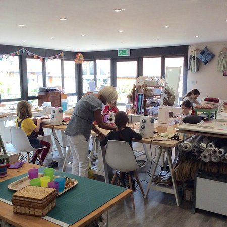 Made and Making: Children's sewing workshops