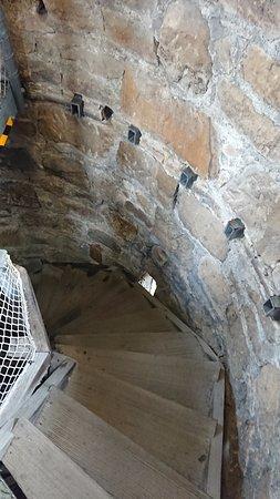 Shot Tower stairs
