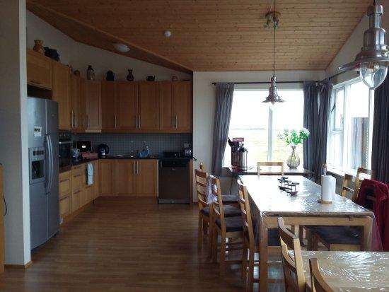 Kirkjubaejarklaustur, İzlanda: Eldhraun Holiday Homes & Guesthouse