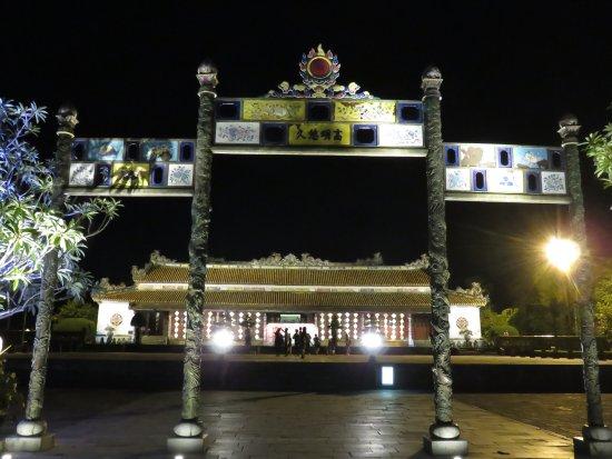 Thai Hoa Palace : 夜の太和殿