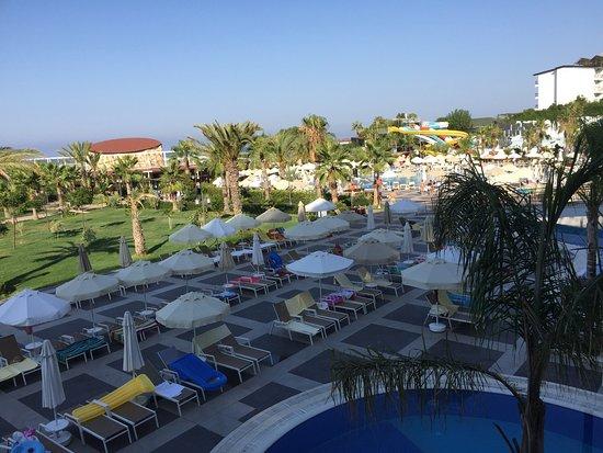 Piscine vue de la chambre sea planet resort spa for Piscine ronchin