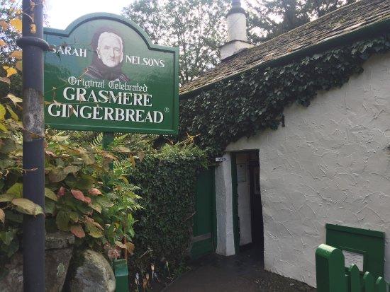 Grasmere, UK: Gingerbread shop