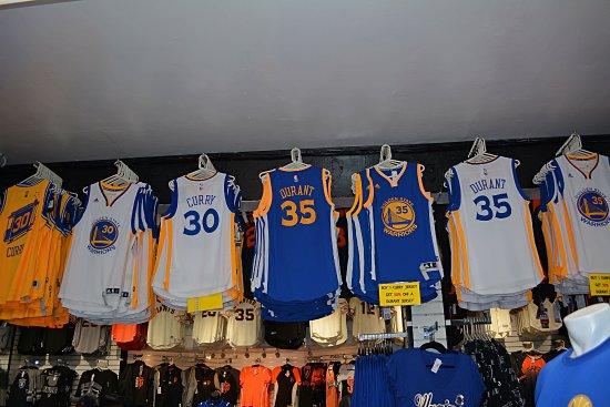 more photos 74aae 70c99 49ers gear. - Picture of NFL Shop Pier 39, San Francisco ...