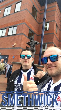 West Bromwich, UK: The Hawthorns