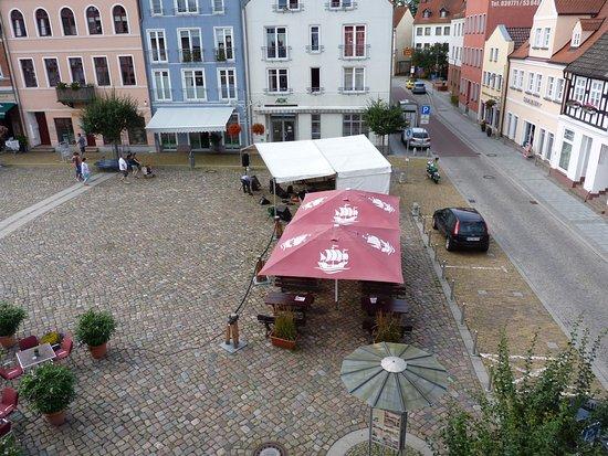 Ueckermunde, Almanya: Marktplatz Ueckermünde