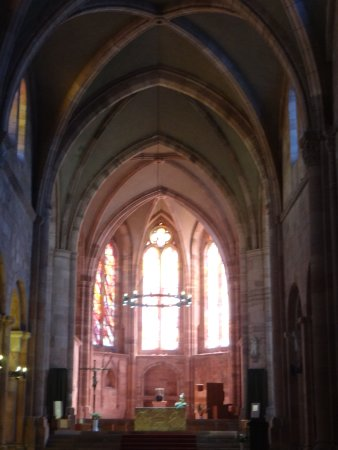 Saint Die des Vosges, Fransa: Le choeur