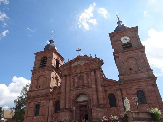 Saint Die des Vosges, Fransa: Vue extérieure