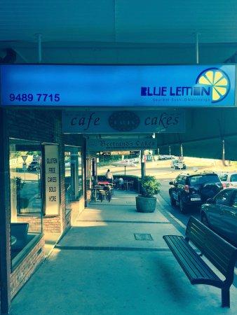 Wahroonga, Australia: Blue Lemon Sushi