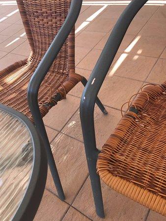 Eden Roc Resort Hotel & Bungalows: sedie aree comuni