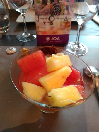 Giffaumont-Champaubert, Frankrike: Salade de fruits
