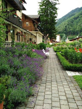 Wilderswil, Switzerland: Le jardin