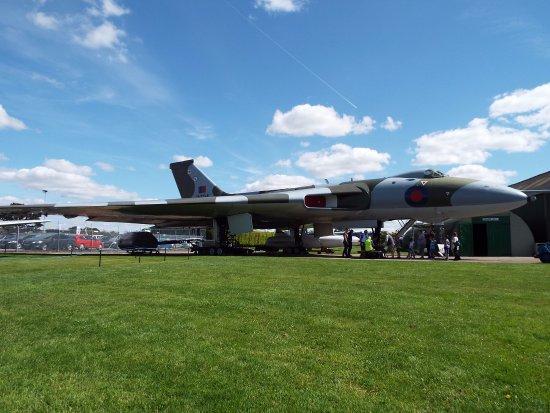 Newark-on-Trent, UK: the avro vulcan .