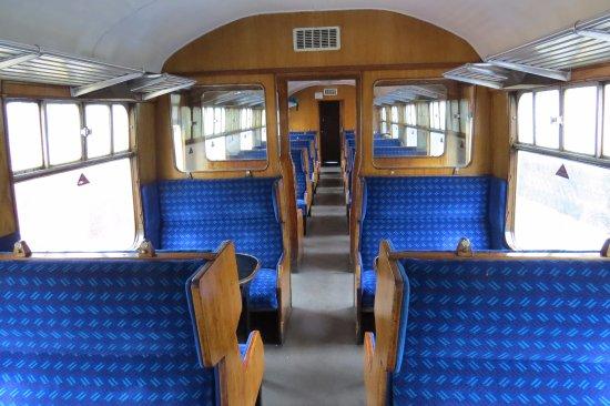 Pickering, UK: Beautifully restored BR Mk1 coach.
