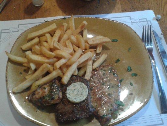 Gaststatte Zum Andres: assiette de grillade