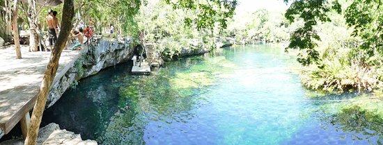 Yucatan, Meksika: pour sauter