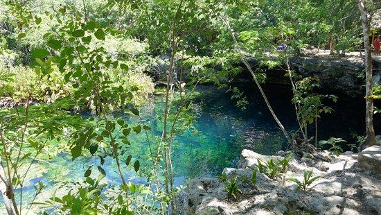 Yucatan, Meksika: chemin qui fait tout le tour