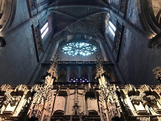 Cathedrale Notre Dame de Rodez: L'entrée
