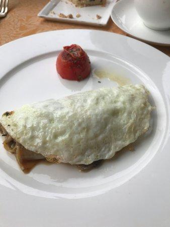 Auberge du Soleil: Perfect egg white omelet
