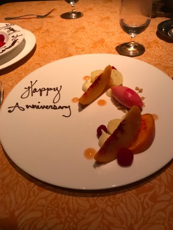 Auberge du Soleil: Delicious ending to a fabulous meal