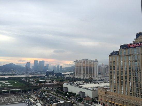 Sheraton Grand Macao Hotel, Cotai Central: Ausblick aus dem Hotel