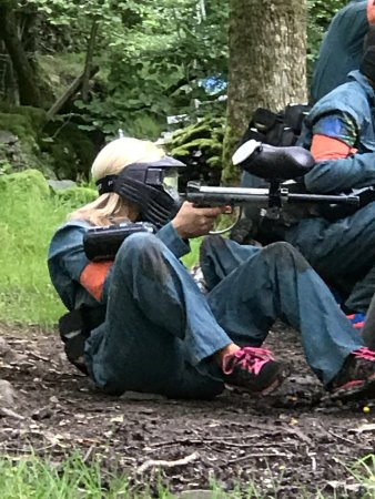 Chorley, UK: Family adventure activities paintball days and archery near Windermere in the Lake District