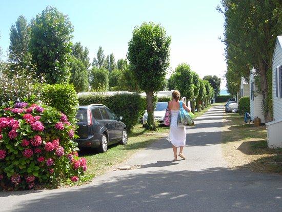 La Foret-Fouesnant, France: allée