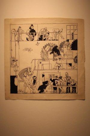 Musée Hergé : Een nieuw album in de maak