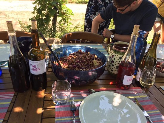 Mazamet, Frankrijk: Incredible wine and lunch at Astrid's