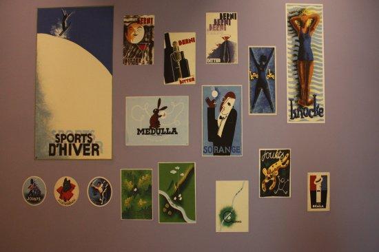 Musée Hergé : Hergé: affiches