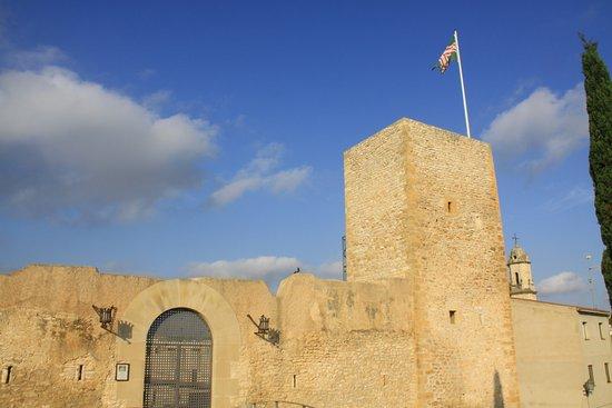 El Catllar, Spain: Puerta y torre