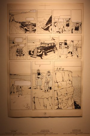 Musée Hergé : De zwarte Rotsen 1942