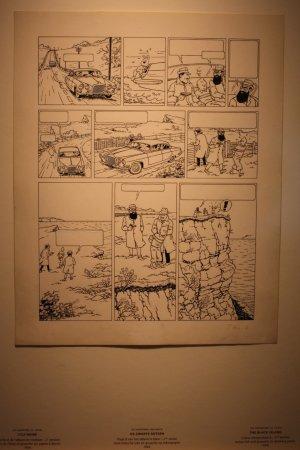 Musée Hergé : De zwarte rotsen 1964