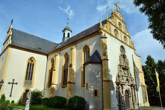 Dettelbach, Tyskland: Aussenansicht vom Garten aus