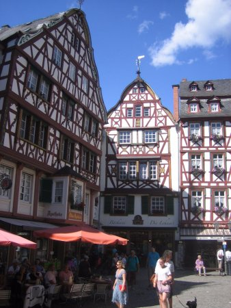 Mosel Valley: part of the old town of Bernkastel