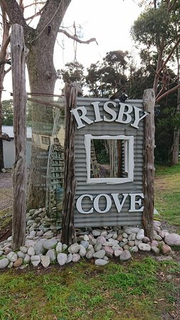 Risby Cove: Sign