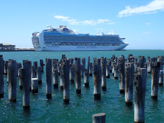Port Phillip, Australia: Princess Pier view