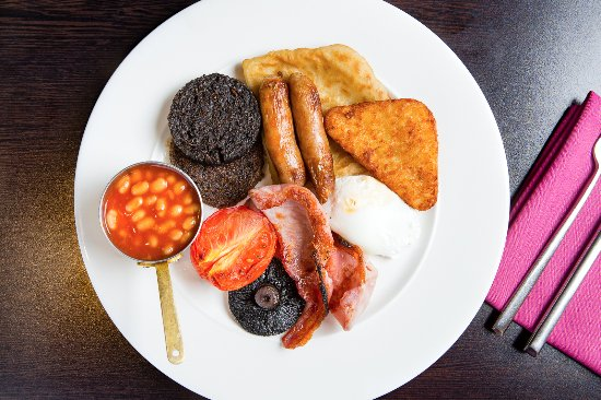 Motherwell, UK: Breakfast at Dalziel Park Hotel