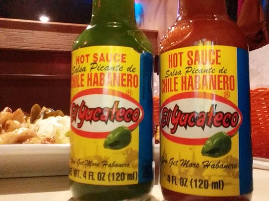 Greeneville, TN: Hot sauce at Monterrey