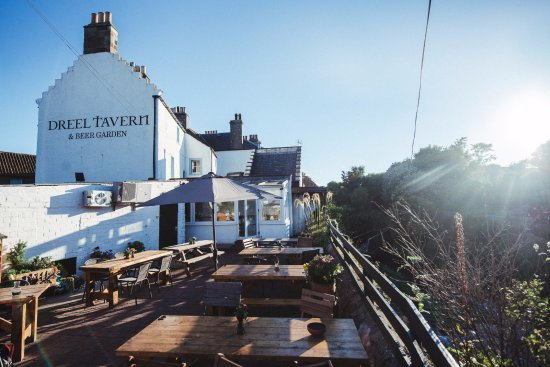 Anstruther, UK: Beer garden