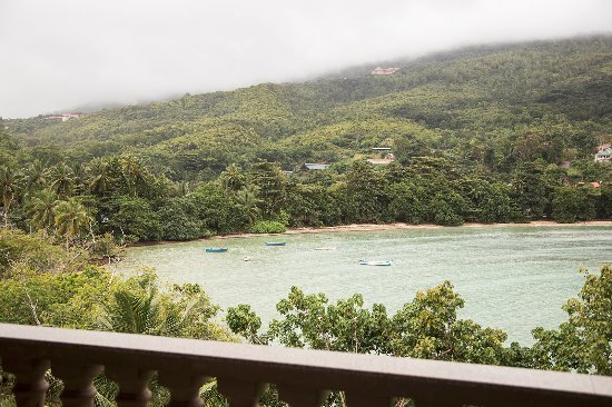 Anse Boileau, Seychelles: view from a balcony