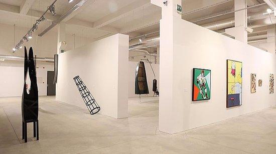 Sao Joao da Madeira, Πορτογαλία: Vista geral de exposição da coleção Norlinda e José LIma