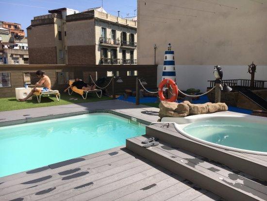 Silken Concordia Hotel : Roof Pool & Bar