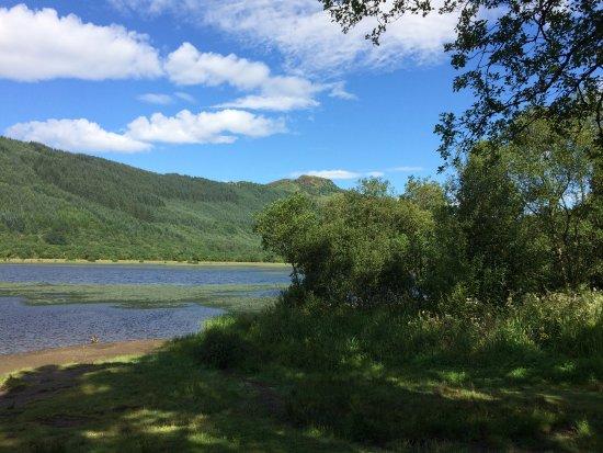 Callander, UK: Loch Lubnaig, een oase van rust.
